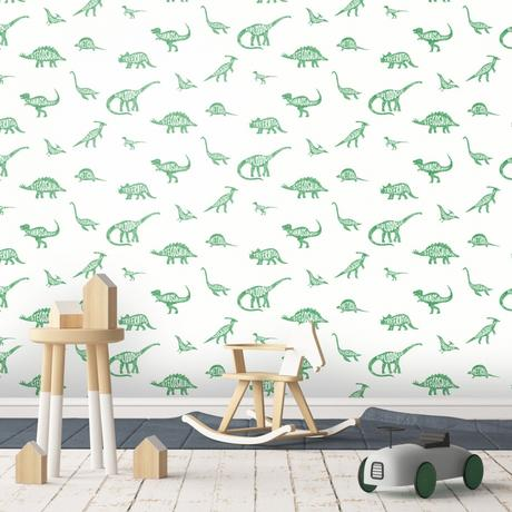 dinosaur kids wallpaper, Stylish & Modern Children's Room & Nursery Wallpaper & Wall Mural Ideas
