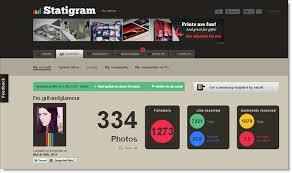 This is another great tool to view private instagram profiles without letting people know. Statigram Grit Glamour
