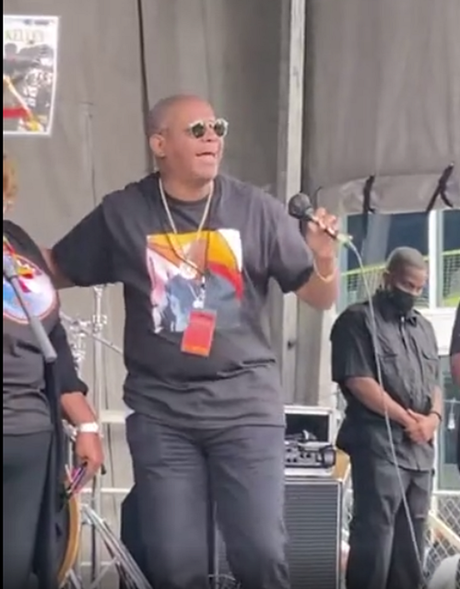 Pop and R&B Artist Darrell Kelley Visits Site of Tulsa Race Massacre on 100th Anniversary While On Tour [Video-Clips Included]