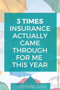 3 times insurance totally saved me in the last year