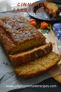 CINNAMON Carrot Cake   How to make Carrot Cake Recipe   EASY Carrot Cake   Carrot Cake EGGLESS