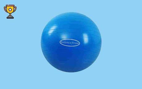 BalanceFrom Anti-Burst Exercise Ball