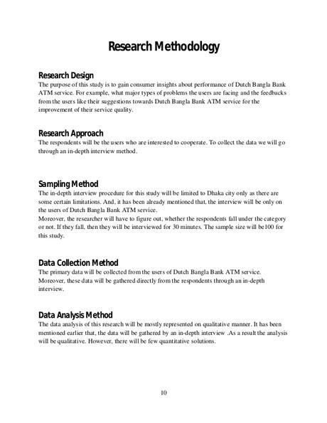 Methodology Sample In Research - Still Stuck? Look at an ...