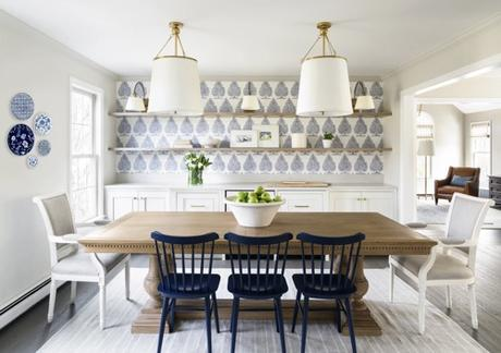 Scheming: Fresh Dining Room Redo by Tracy Parkinson
