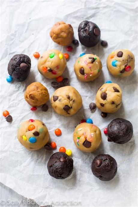 For storing them in the freezer i always use my christmas cookie containers i have saved up over the years. How to Freeze Cookie Dough | Sally's Baking Addiction