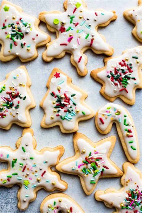 Lots of these recipes can be prepared in advance and frozen! Sugar Cookie Recipe - Rachel J Mitchell