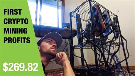 Mining hnt is done by installing a simple device on your. First Crypto Mining Rig Profits! Week Three - YouTube