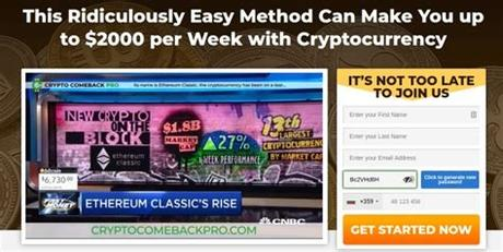 You've already flagged this 101896304 2 reviews. Crypto Comeback Pro Review