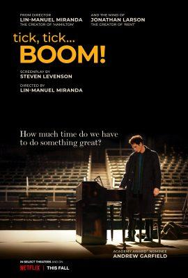 Trailer Debut: TICK, TICK… BOOM!  Netflix Musical Directed by Lin-Manuel Miranda