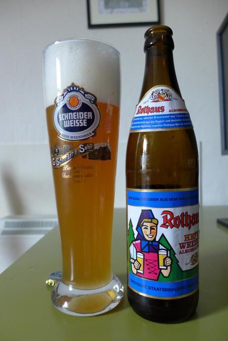 Tasting Notes: Rothaus: Hefeweizen: Alkoholfrei