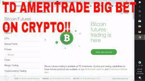If buying and selling on the go is vital to you, binance app is great for that. Td Ameritrade Cryptocurrency Bitcoin Futures Investment In Erisx Exchange From Td Ameritrade Youtube