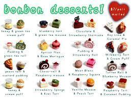 A dessert is typically the sweet course that concludes a meal in the culture of many countries, particularly western culture.the course usually consists of sweet foods, but may include other items. Dessert Names