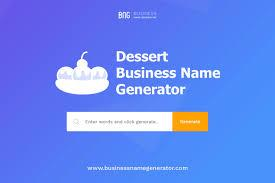 There are so many great sweet treats that are white. Dessert Business Name Generator Instant Availability Check