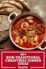 The meals are often particularly rich and substantial, in the tradition of the christian feast day celebration. 50 Christmas Food Ideas To Take Your Holiday Dinner To The Next Level Christmas Food Dinner Traditional Christmas Dinner Dinner