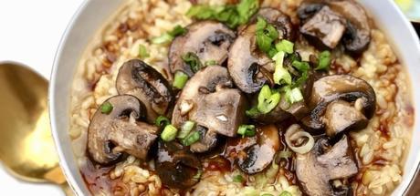 Brown Rice Mushroom Congee2 min read