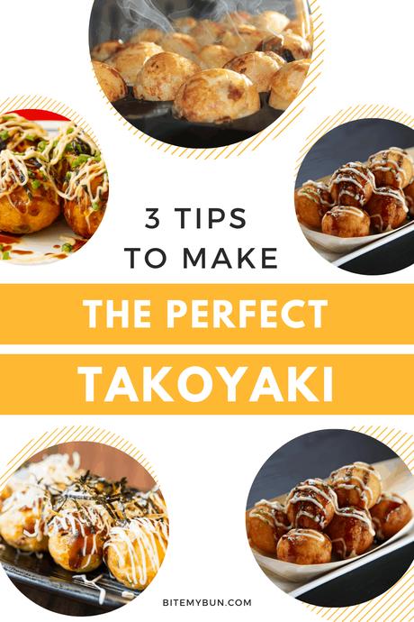 3 tips to make the perfect takoyaki