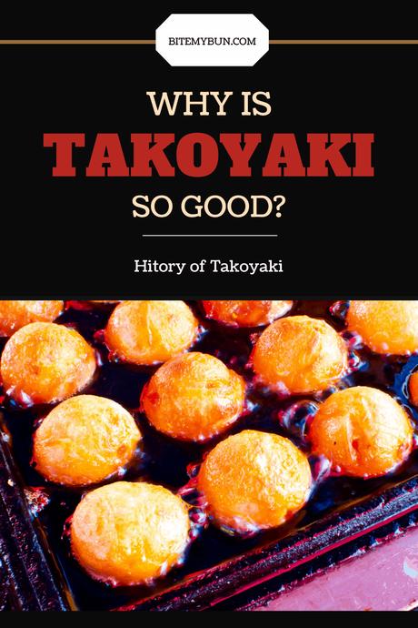 Takoyaki history