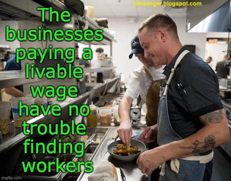 Businesses Paying A Livable Wage Are Filling Their Jobs