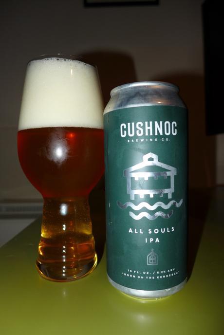 Tasting Notes: Cushnoc: All Souls IPA