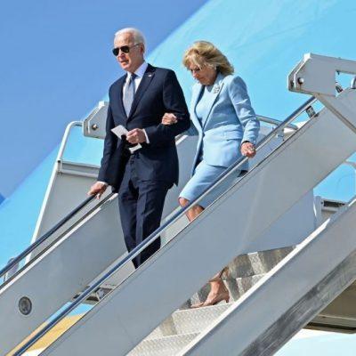 President Joe Biden and Jill Biden Sip Tea with The Queen