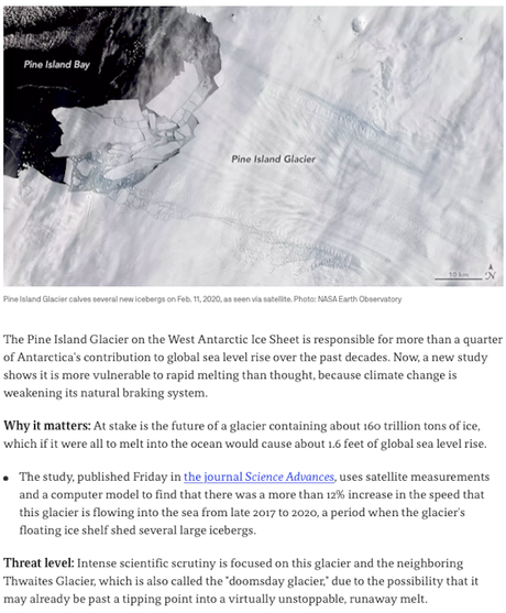 Antarctica Is Warming Faster Than Was Expected