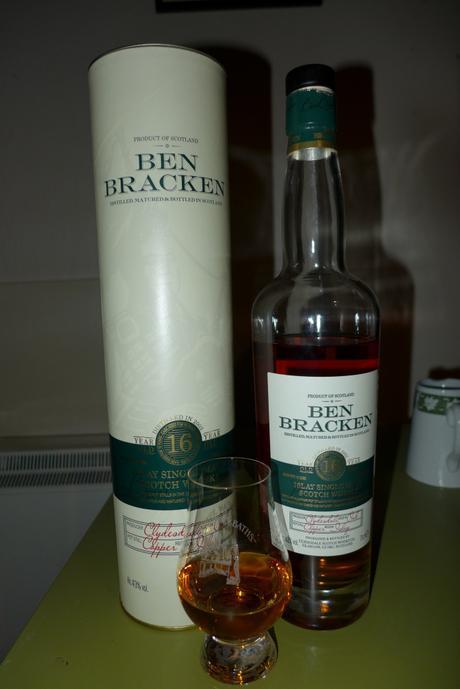 Tasting Notes:  Ben Bracken: 16 Year Old Islay