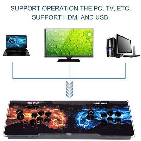 Arcade1up reveals 7 new retro arcade cabinets at ces 2021. 2021 New Version Pandora's Box 20S 4263 Games 2D/3D Double ...