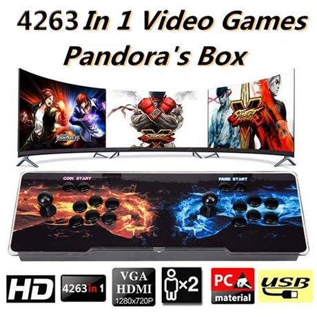 Wishlist (0) shopping cart (0) you have no items in your shopping cart. 2021 New Pandora's Box 4263 in 1 Video Games Retro Arcade ...