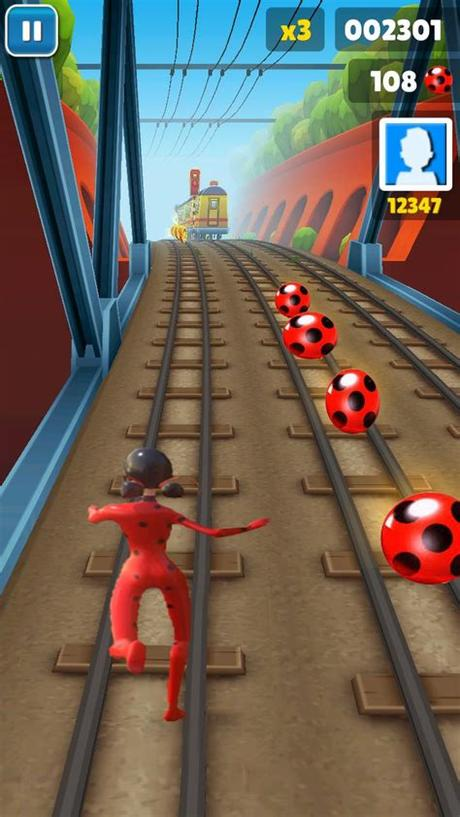 Enjoy this superhero runner game! Subway Miraculous Ladybug Game Free for Android - APK Download