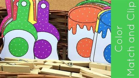 Simply download pdf file learning colours for kids and cut out the 11 kites and tassles. Toddler and Preschool Color Matching Activity - YouTube
