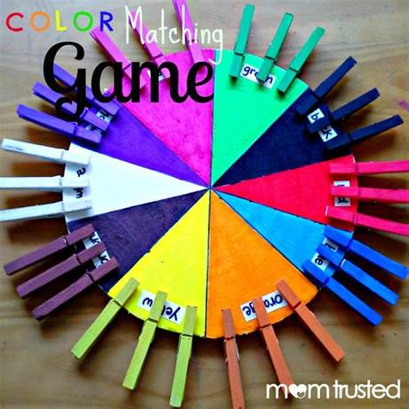 The games listed here are all about developing that skill of observation. How to Make this Color Matching Game for your Preschooler ...