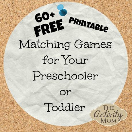 The Activity Mom - Free Printable Matching Games