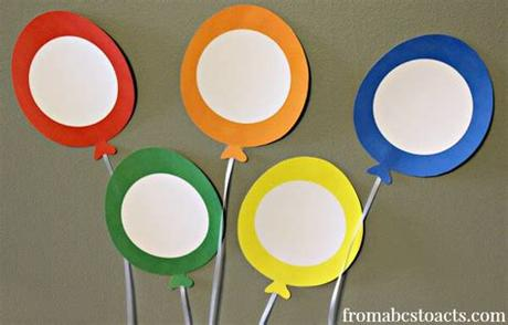 Here's what you need for the color matching activity: Balloon Color Matching for Preschoolers | From ABCs to ACTs