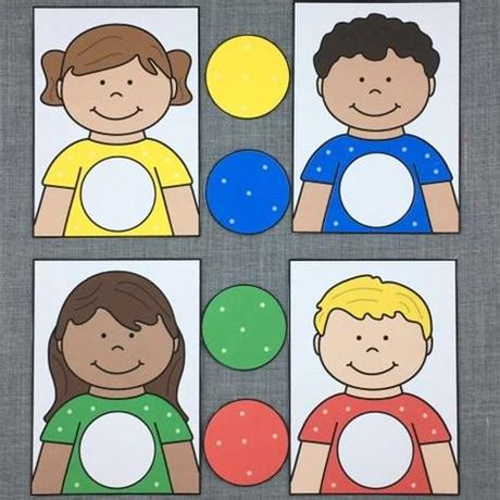 This color matching games for preschoolers is a 4 in 1 learning kit that i am using for my little boy. Pin on matching games
