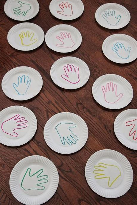 Top 10 color matching activities for toddlers. Toddler Approved!: Handprint Color Matching Game {Virtual ...