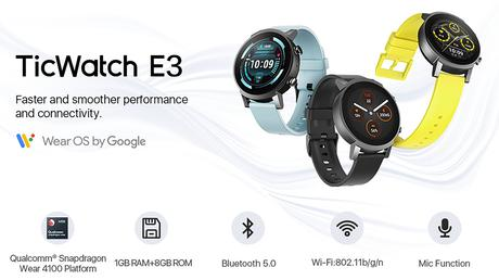 Mobvoi TicWatch E3 here with SD4100 for under $200