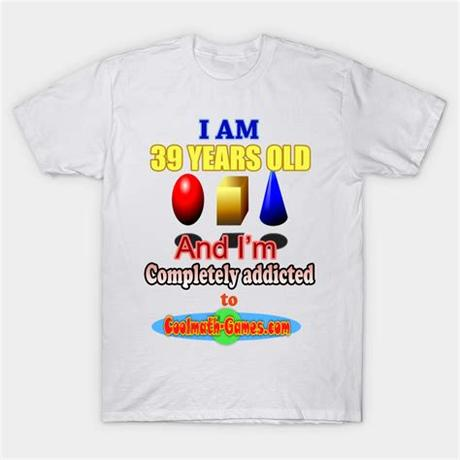 You push the limits, and the new record is yours. Cool Math Games - Addicted Cool Math Games - T-Shirt ...