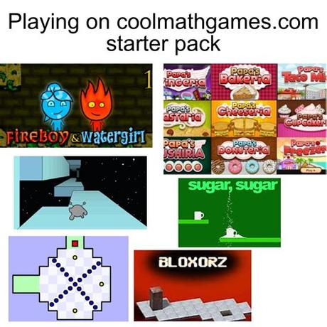 Although you won't need to solve any complex math problems. Playing on cool math games starter pack : starterpacks