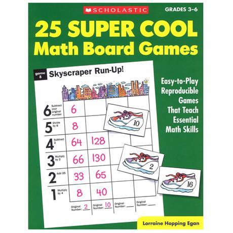 25 Super Cool Math Board Games - SC-0590378724 ...