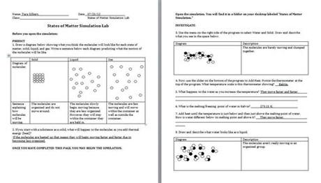 Circle a molecule of rsq in model 1. Pogil Classification Of Matter Worksheet Answers ...