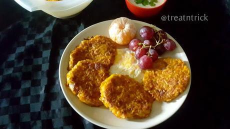 Homemade Pumpkin Hashbrowns Recipe @ treatntrick.blogspot.com