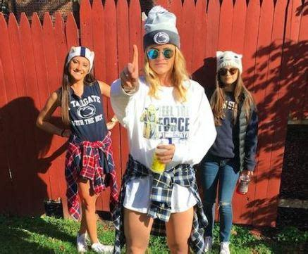 Check out this site to stock up on your blue and gold skirts and tube tops! 10 Cute Gameday Outfits At Penn State University - Society19