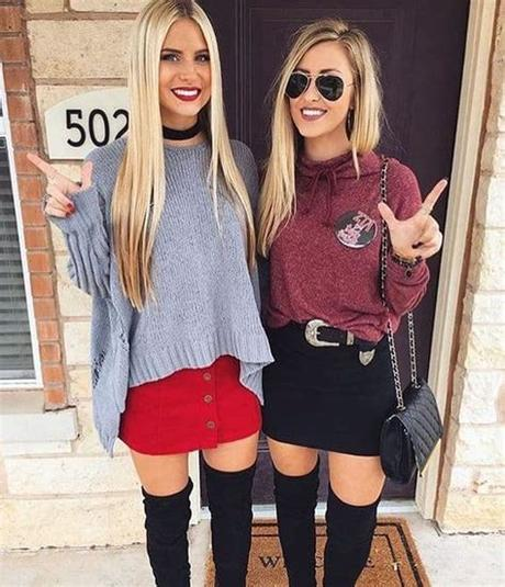 Swap out jeans or leggings. 22 Game Day Outfits All College Girls Need To Copy - By ...