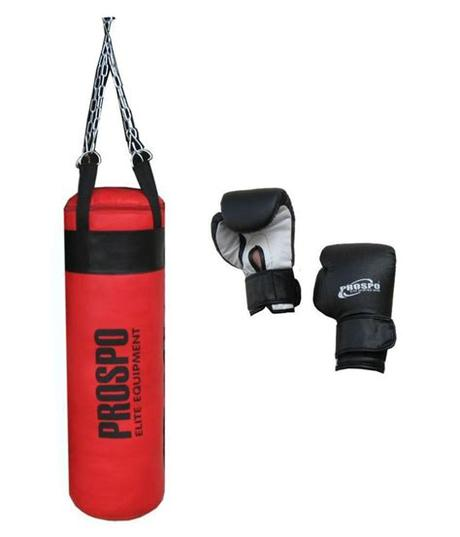 Weigh the bags to be sure there is enough fill to make a good punching bag. Prospo Multicolor Punching Bag with Boxing Gloves: Buy ...