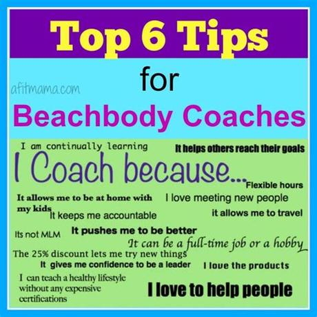 Your clients will relate to your story, not matter what point you are in your fitness journey. Top 5 Tips for Beachbody Coaches   Fit with Rachel