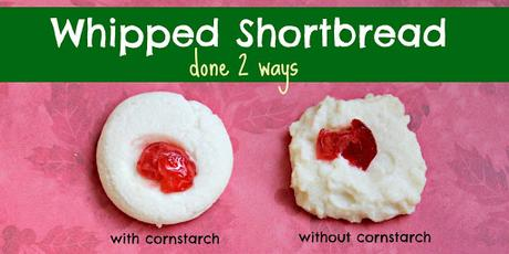 Bake for 25 to 30 minutes, or until bottoms begin to brown. Whipped Shortbread 2 Ways