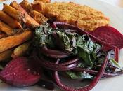Steamed Baby Beets Greens