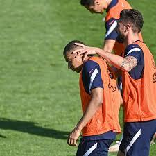 Giroud also made a point of thanking benjamin pavard and wissam ben yedder for their assists, and his comments were interpreted by sections of the french press as critical of mbappe. Tensions Between Giroud And Mbappe At France On The Eve Of Euro 2020 We Ain T Got No History
