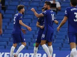 Giroud began his senior club career playing for hometown. Olivier Giroud Score Winner As Nervy Chelsea Beat Norwich Football News