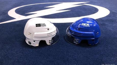 Tampa Bay Lightning Helmet Sponsors Tampa Bay Business Journal